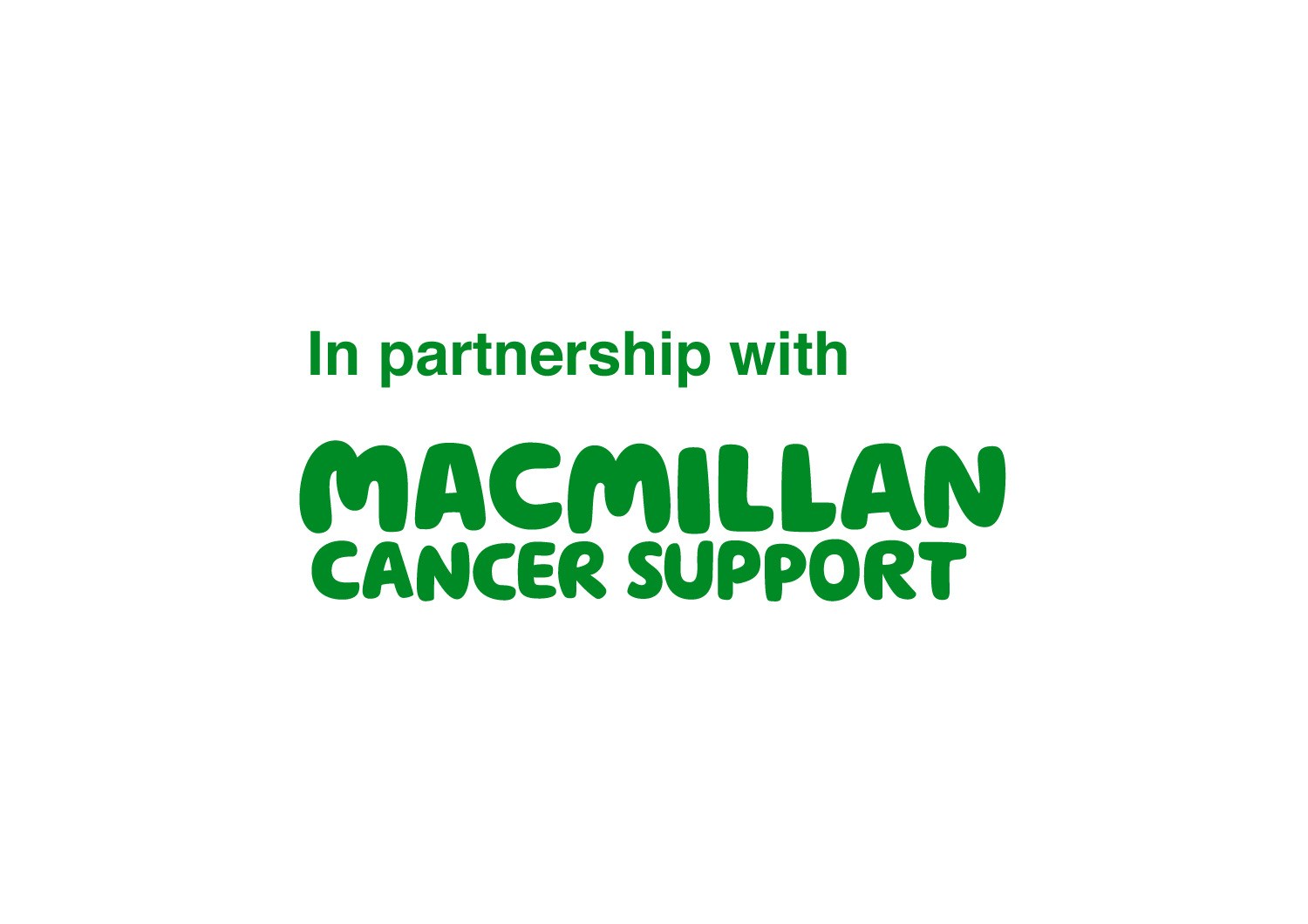 Official macmillan partnership logo