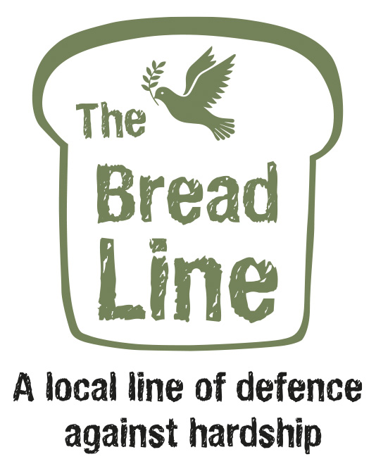 Logo of slice of bread and a dove